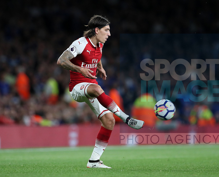 Arsenal's Hector Bellerin in action during the premier league match at the Emirates Stadium, London. Picture date 11th August 2017. Picture credit should read: David Klein/Sportimage