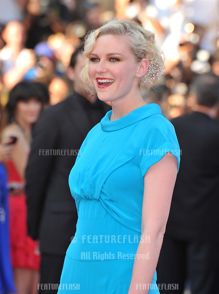 Kirsten Dunst at the closing Awards Gala at the 63rd Festival de Cannes..May 23, 2010  Cannes, France.Picture: Paul Smith / Featureflash