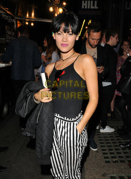 Sinead Harnett attends the Professor Green's &quot;Lucky&quot; book launch party, Lights of Soho, Brewer Street, London, England, UK, on Thursday 10 September 2015. <br /> CAP/CAN<br /> &copy;Can Nguyen/Capital Pictures