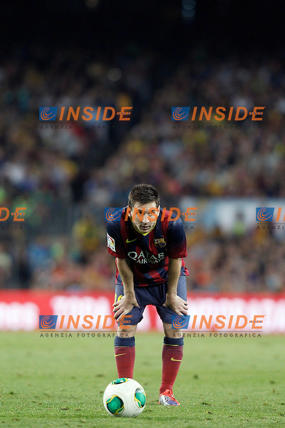 FC Barcelona's Leo Messi during Supercup of Spain 2nd match.August 28,2013. (ALTERPHOTOS/Acero) <br /> Football Calcio 2013/2014<br /> La Liga Spagna Supercoppa di Spagna Barcellona - Atletico MAdrid <br /> Foto Alterphotos / Insidefoto <br /> ITALY ONLY
