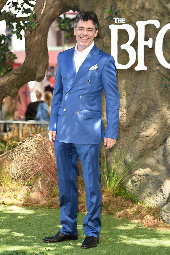 "Diego Luna<br /> arrives for the ""BFG"" premiere at the Odeon Leicester Square, London.<br /> <br /> <br /> ©Ash Knotek  D3141  17/07/2016"