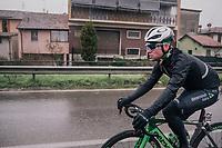 Mark Cavendish  (GBR/Dimension Data) rolling along<br /> <br /> 109th Milano-Sanremo 2018<br /> Milano &gt; Sanremo (291km)