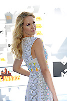 Anna Camp at the 2015 MTV Movie Awards at the Nokia Theatre LA Live.<br /> April 12, 2015  Los Angeles, CA<br /> Picture: Paul Smith / Featureflash