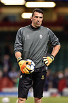 Gianluigi Buffon of Juventus during the training session ahead the UEFA Champions League Final between Real Madrid and Juventus at the National Stadium of Wales, Cardiff, Wales on 2 June 2017. Photo by Giuseppe Maffia.<br /> Giuseppe Maffia/UK Sports Pics Ltd/Alterphotos