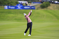 Anna Nordqvist of Team Europe on the 2nd fairway during Day 2 Foursomes at the Solheim Cup 2019, Gleneagles Golf CLub, Auchterarder, Perthshire, Scotland. 14/09/2019.<br /> Picture Thos Caffrey / Golffile.ie<br /> <br /> All photo usage must carry mandatory copyright credit (© Golffile | Thos Caffrey)