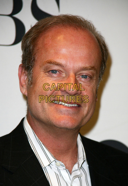 KELSEY GRAMMER .Attending the 2010 Tony Awards Meet the Nominees Press Reception on May 5, 2010 in New York City, New York, NY, USA, 5th May 2010..portrait headshot  black white shirt smiling striped .CAP/ADM/PZ.©Paul Zimmerman/AdMedia/Capital Pictures.