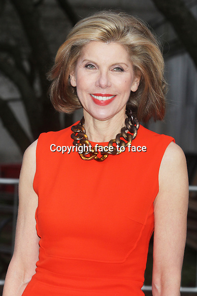 Christine Baranski arriving at the Vanity Fair Party celebrating the Tribeca Film Festival at the State Supreme Courthouse in New York, 16.04.2013. .Credit: Rolf Mueller/face to face