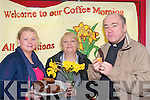 Enjoying a fund-raising coffee morning on Daffodil Day at Ballyspillane Family Resource Centre. .L-R Jane O'Brien, Margaret Murphy and Fr Kevin McNamara