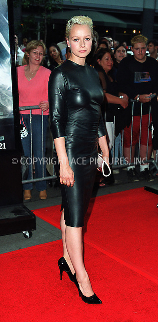 "Actress Samantha Morton arrive at Cipriani 42nd Street for the the world premiere afterparty of ""Minority Report"" in New York. June 17, 2002. Please byline: Alecsey Boldeskul/NY Photo Press.   ..*PAY-PER-USE*      ....NY Photo Press:  ..phone (646) 267-6913;   ..e-mail: info@nyphotopress.com"