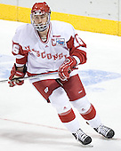 Adam Burish - The University of Wisconsin Badgers defeated the Boston College Eagles 2-1 on Saturday, April 8, 2006, at the Bradley Center in Milwaukee, Wisconsin in the 2006 Frozen Four Final to take the national Title.