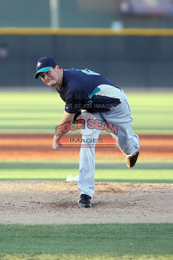 Erik Bedard - AZL Mariners - 2010 Arizona League -  Pitching a rehab game on opening night game between the Mariners and Rangers at Surprise Recreational Complex - 06/21/2010. Photo by:  Bill Mitchell/Four Seam Images.