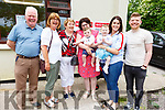 Attending the Ballyfinane Community Hall Coffee Morning and cake sale fundraiser for the Children&rsquo;s Hospital in Crumlin on Sunday morning.<br /> L-r, Mike and Ann Carroll, Mary Kellliher, Siobhan and David McCarthy, Cora, Lucia and Paul Carroll.