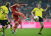 Fussball Bundesliga 2012/13: FC Bayern Muenchen - Borussia Dortmund