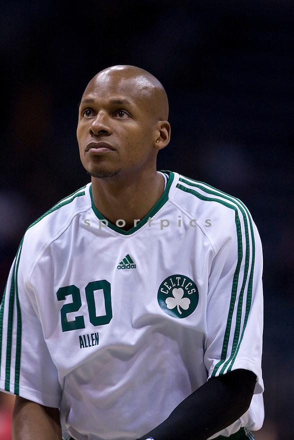 Ray Allen.March 09, 2010 Milwaukee, WI. Bradley Center...Milwaukee Buck won over the Boston Celtics 86-84.