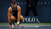 New York, United States, September 11, 2011..Samantha Stosur of Australia and Serena Williams of the United States compete during the women's final of the U.S. Open tennis tournament in New York. September 11, 2011. VIEWpress / Eduardo Munoz Alvarez.
