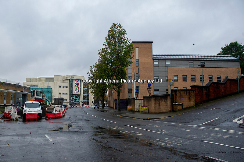 Pictured: A general view of Grove Pl in Swansea, Wales, UK. Thursday 31 October 2019