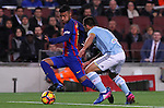 04.03.2017 Barcelona. La Liga game 26. Picture show Rafinha in action during game between FC Barcelona against Celta at Camop Nou