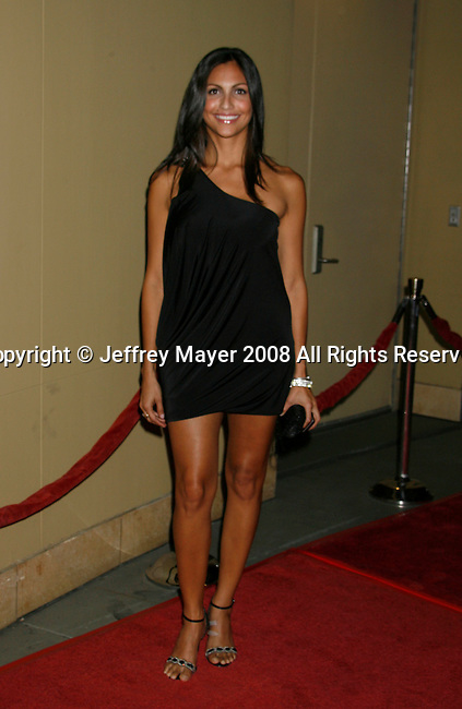 """HOLLYWOOD, CA. - October 07: Actress Jessie Camacho arrives at the Padres Contra El Cancer's 8th Annual """"El Sueno De Esperanza"""" Benefit Gala at the Hollywood & Highland Center on October 7, 2008 in Hollywood, California."""