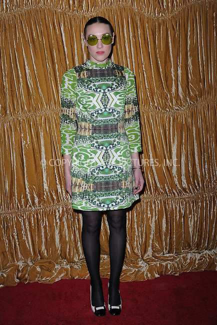 WWW.ACEPIXS.COM<br /> February 16, 2015 New York City<br /> <br /> Mia Moretti at the alice + olivia by Stacey Bendet fashion presentation on February 16, 2015 in New York City. <br /> <br /> By Line: Kristin Callahan/ACE Pictures<br /> ACE Pictures, Inc.<br /> tel: 646 769 0430<br /> Email: info@acepixs.com<br /> www.acepixs.com