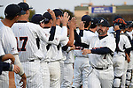 May 21, 2015; Stockton, CA, USA; Pepperdine Waves head coach Steve Rodriguez (7) during the WCC Baseball Championship at Banner Island Ballpark.