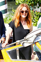 VENICE, ITALY - SEPTEMBER 01: Julianne Moore is seen leaving the Hotel Excelsior after giving interviews during the 74th Venice Film Festival on September 1, 2017 in Venice, Italy.  Credit: John Rasimus/MediaPunch ***FRANCE, SWEDEN, NORWAY, DENARK, FINLAND, USA, CZECH REPUBLIC, SOUTH AMERICA ONLY***