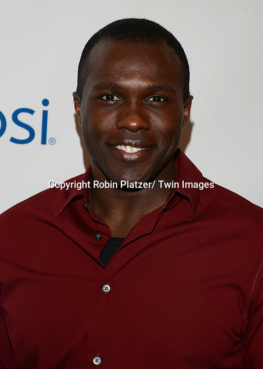 Joshua Henry attends the 80th Annual Drama League Awards Ceremony and Luncheon on May 16, 2014 at the Marriot Marquis Hotel in New York City, New York, USA.