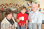 IN THE KITCHEN: Susan Kelly, Natalie Thornton and Michael Scanlon of Athea Community Hall Committee showing off their new community kitchen which they hope will increase income for the Hall.