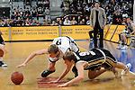 Mannheim 17.01.2009, NBBL Team Nord Niels Giffey gegen NBBL Team S&uuml;d Tobias Kornd&ouml;rfer im Spiel NBBL S&uuml;d - NBBL Nord beim BBL Allstar Day in der SAP Arena<br /> <br /> Foto &copy; Rhein-Neckar-Picture *** Foto ist honorarpflichtig! *** Auf Anfrage in h&ouml;herer Qualit&auml;t/Aufl&ouml;sung. Belegexemplar erbeten.