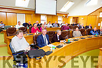 Councillors meet for the last sitting of the Kerry County Council on Monday