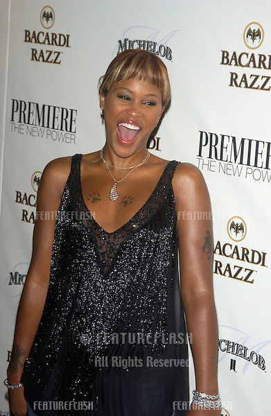 Singer EVE at party in Hollywood for Premiere magazine's Premiere The New Power issue..June 2, 2004