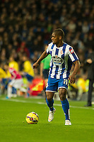 Deportivo de la Coruna's Ivan Cavaleiro during 2014-15 La Liga match between Real Madrid and Deportivo de la Coruna at Santiago Bernabeu stadium in Madrid, Spain. February 14, 2015. (ALTERPHOTOS/Luis Fernandez) /NORTEphoto.com