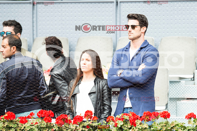 AItor Ocio and his girlfriend during Mutua Madrid Open Tennis 2016 in Madrid, May 07, 2016. (ALTERPHOTOS/BorjaB.Hojas) /NortePhoto.com