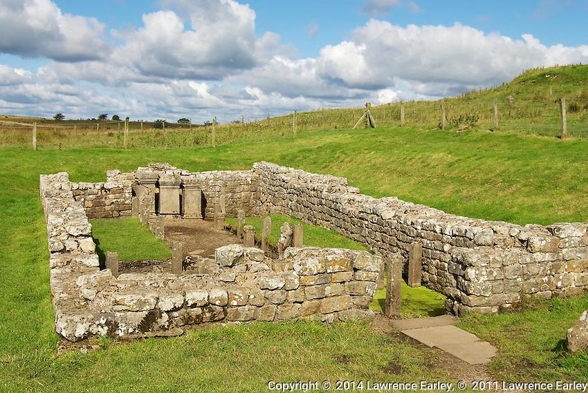 Day 2 - Temple to Mithras (Mithraeum) near Brocolitia Fort
