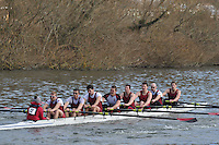 012 IM1.8+ Vesta RC ..Reading University Boat Club Head of the River 2012. Eights only. 4.6Km downstream on the Thames form Dreadnaught Reach and Pipers Island, Reading. Saturday 25 February 2012.