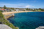 Camp Cove beach in Watsons Bay, NSW, Australia