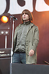 Beady Eye play the Main Stage on Day 2 of the Oxegen Festival, Punchestown, Co.Kildare...(Photo credit should read Jenny Matthews www.newsfile.ie)....This Picture has been sent you under the conditions enclosed by:.Newsfile Ltd..The Studio,.Millmount Abbey,.Drogheda,.Co Meath..Ireland..Tel: +353(0)41-9871240.Fax: +353(0)41-9871260.GSM: +353(0)86-2500958.email: pictures@newsfile.ie.www.newsfile.ie.