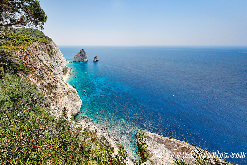 Mizithres in Zakynthos island, Greece