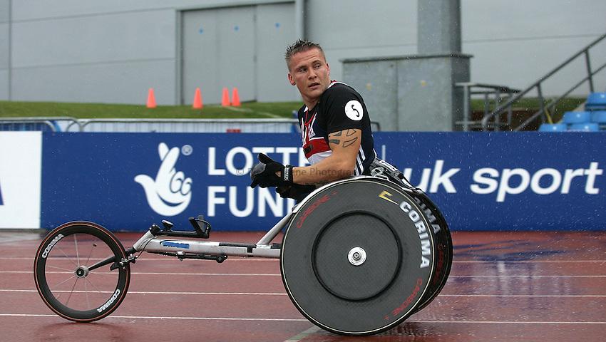 Photo: Paul Thomas..VISA Paralympic World Cup 2007. Athletics. 13/05/2007...David Weir of Great Britain.