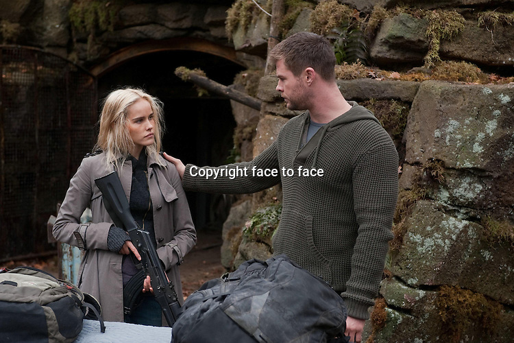 Erica (Isabel Lucas) and Jed (Chris Hemsworth) in Red Dawn...- Editorial Use Only -..Supplied by face to face