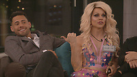 Andrew Brady, Courtney Act<br /> Celebrity Big Brother 2018 - Day 4<br /> *Editorial Use Only*<br /> CAP/KFS<br /> Image supplied by Capital Pictures