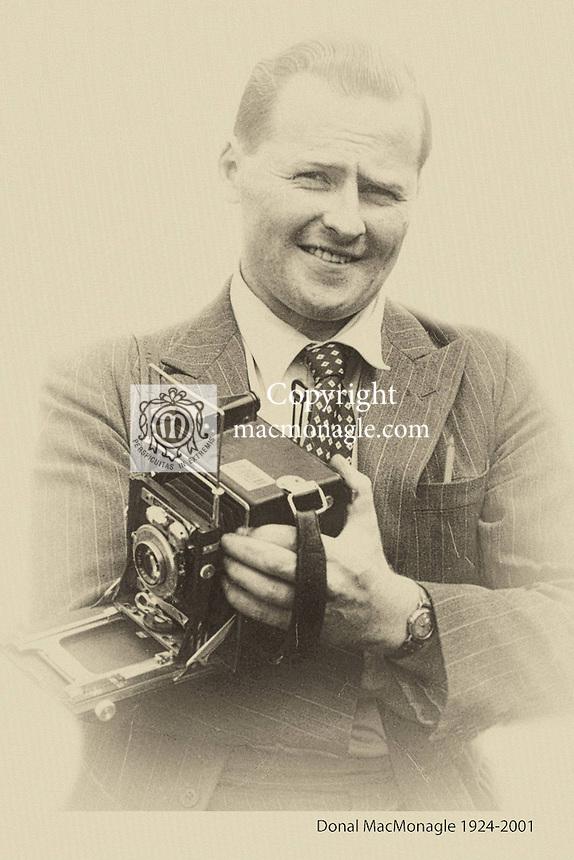Renowned press photographer Donal MacMonagle from Killarney, Co. Kerry.