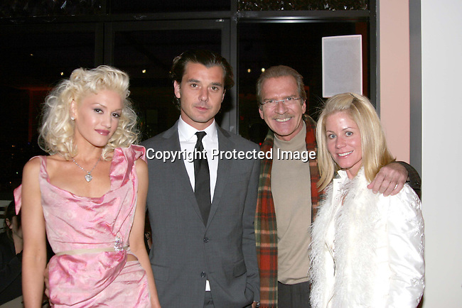 Gwen Stefani, Gavin Rossdale, Pat O'Brien &amp; guest<br />