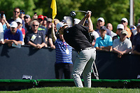 Bronson Burgoon (USA) on the 15th tee during the 3rd round at the PGA Championship 2019, Beth Page Black, New York, USA. 19/05/2019.<br /> Picture Fran Caffrey / Golffile.ie<br /> <br /> All photo usage must carry mandatory copyright credit (© Golffile | Fran Caffrey)