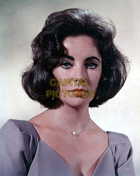 ELIZABETH TAYLOR.headshot portrait .*Editorial Use Only*.CAP/STF/PEL.Supplied by Capital Pictures.