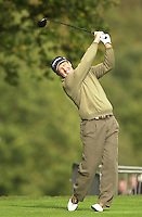 Photo Peter Spurrier.17/10/2002 Thur.CISCO World Matchplay Championships - Wentworth.Fred Funk..[Mandatory Credit Peter Spurrier/ Intersport Images]