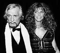 Richard Harris and Ann Turkel 1980<br /> Photo By John Barrett/PHOTOlink