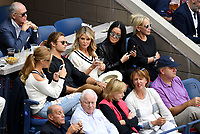 FLUSHING NY- SEPTEMBER 10: *** NO NY DAILIES***  2017 US Open Men's Final - Rafael Nadal Vs Kevin Anderson: Model Nina Agdal, Christie Brinkley, Vera Wang, attend todays Championship match on Arthur Ashe Stadium during the US Open at the USTA Billie Jean King National Tennis Center on September 10, 2017 in Flushing Queens. <br /> CAP/MPI04<br /> &copy;MPI04/Capital Pictures