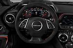 Car pictures of steering wheel view of a 2018 Chevrolet Camaro ZL1 2 Door Coupe Steering Wheel