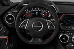 Car pictures of steering wheel view of a 2017 Chevrolet Camaro ZL1 2 Door Coupe Steering Wheel