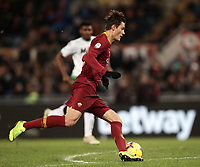 Football, Serie A: AS Roma - US Sassuolo, Olympic stadium, Rome, December 26, 2018. <br /> Roma's Patrik Schick is going to scores during the Italian Serie A football match between Roma and Sassuolo at Rome's Olympic stadium, on December 26, 2018.<br /> UPDATE IMAGES PRESS/Isabella Bonotto